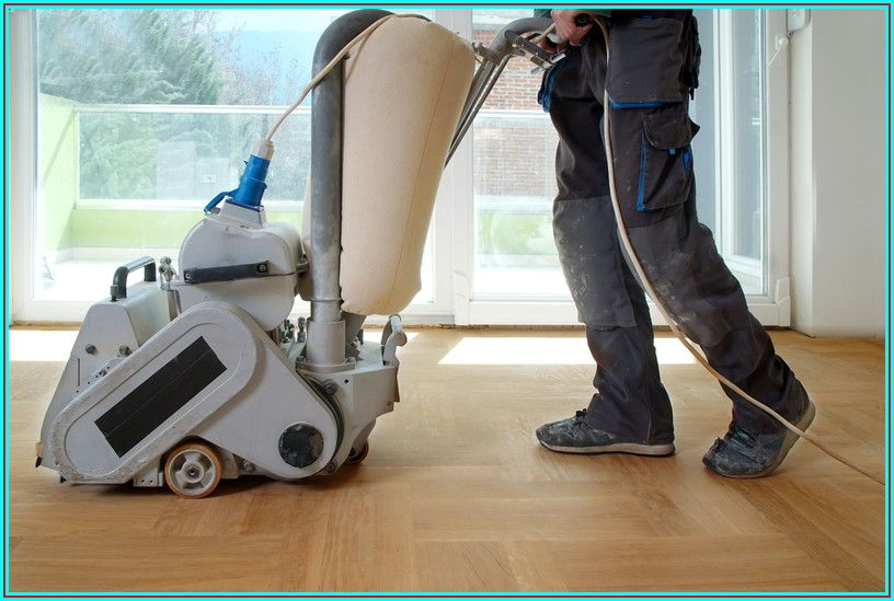 Hire Someone To Sand Floors