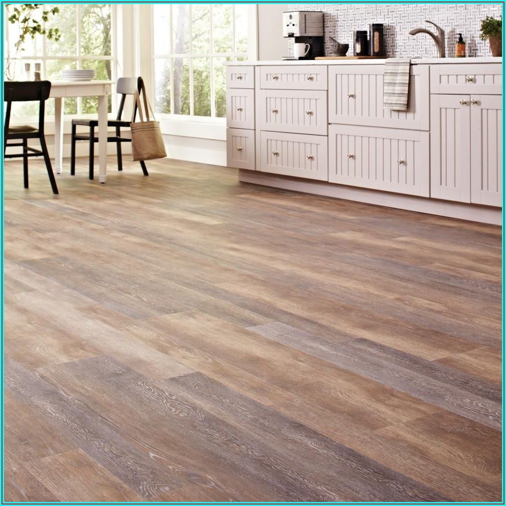 Home Depot Fresh Oak Vinyl Flooring