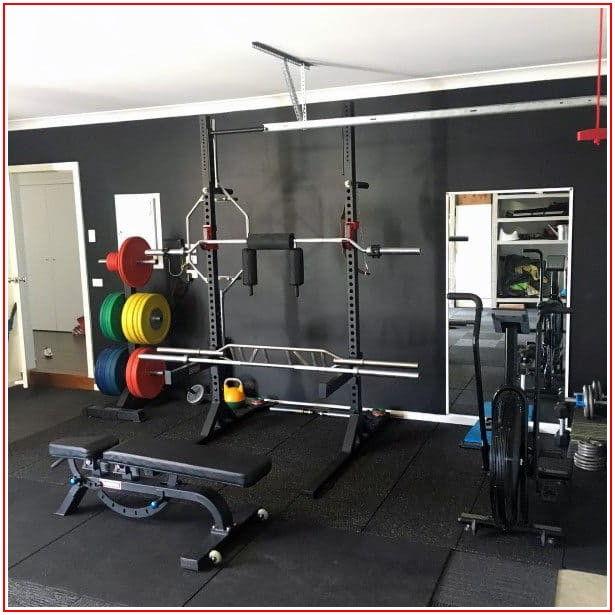 Home Garage Gym Flooring