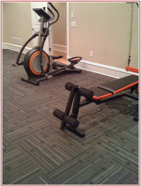 Home Gym Carpet Flooring