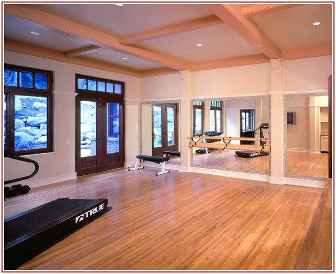 Home Gym Wood Flooring