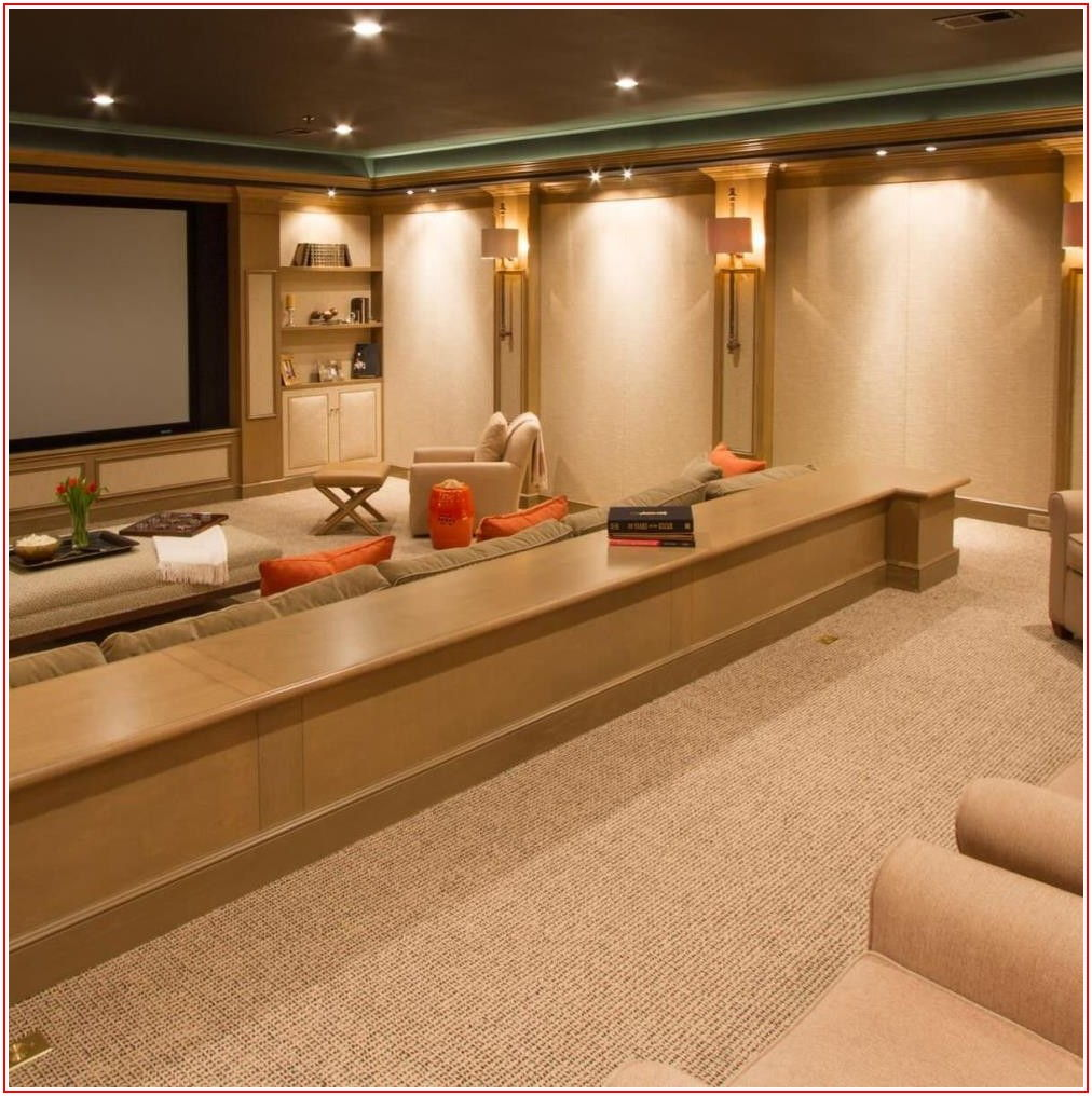Home Theatre Flooring Materials