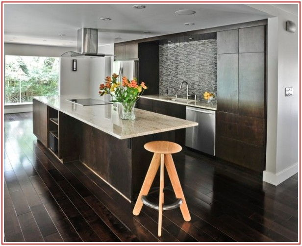 Homes With Black Wood Floors
