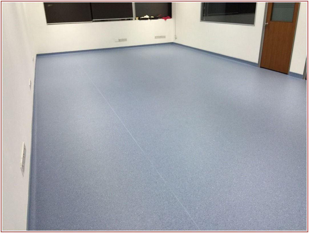 Homogeneous Vinyl Sheet Flooring