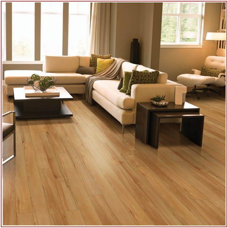 Honey Maple Laminate Flooring