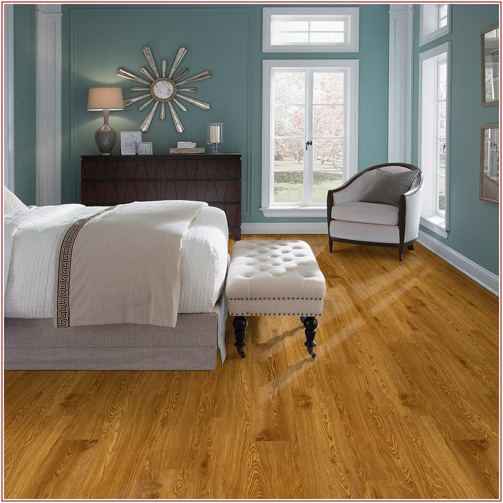 Honey Oak Vinyl Plank Flooring