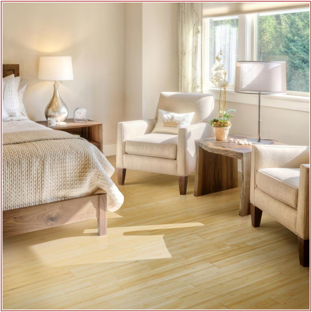 Horizontal Natural Bamboo Flooring