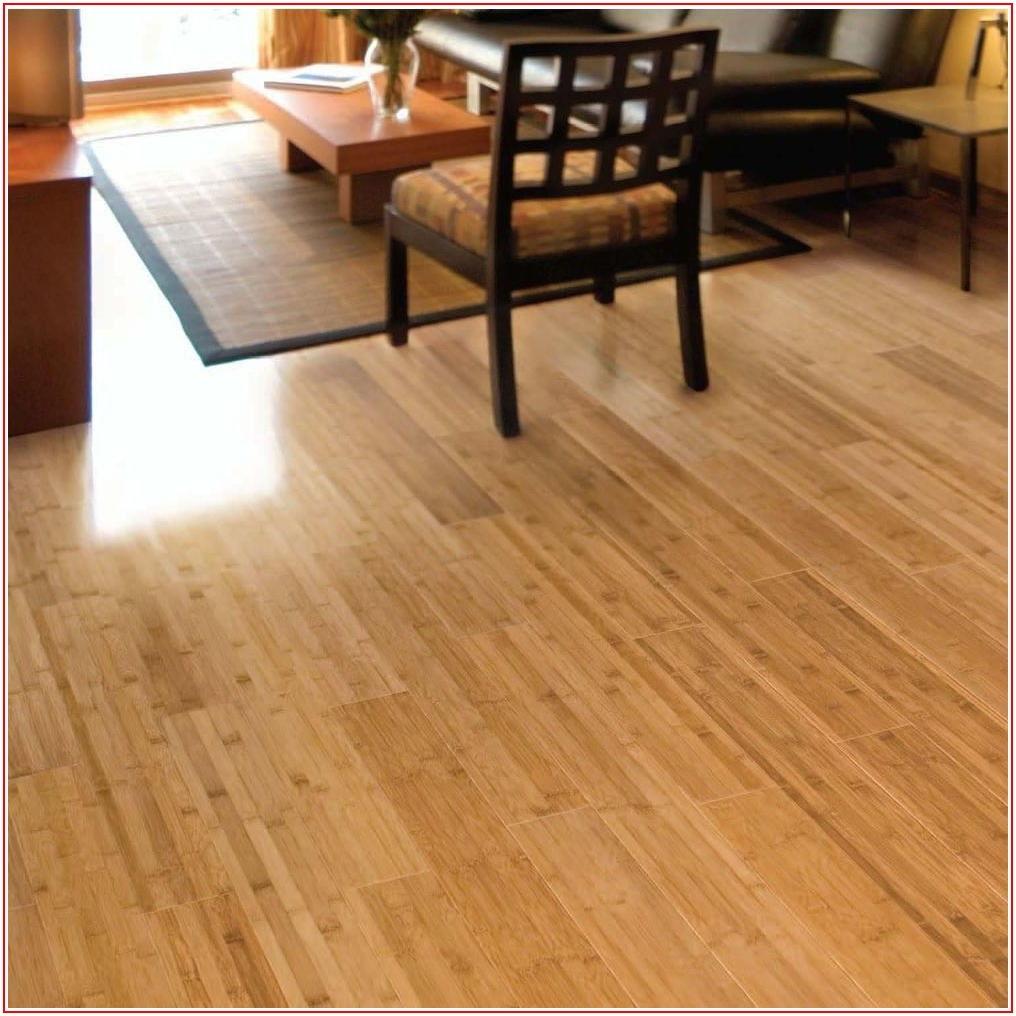 Horizontal Toast Bamboo Flooring