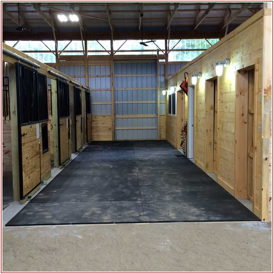Horse Stable Flooring Rubber