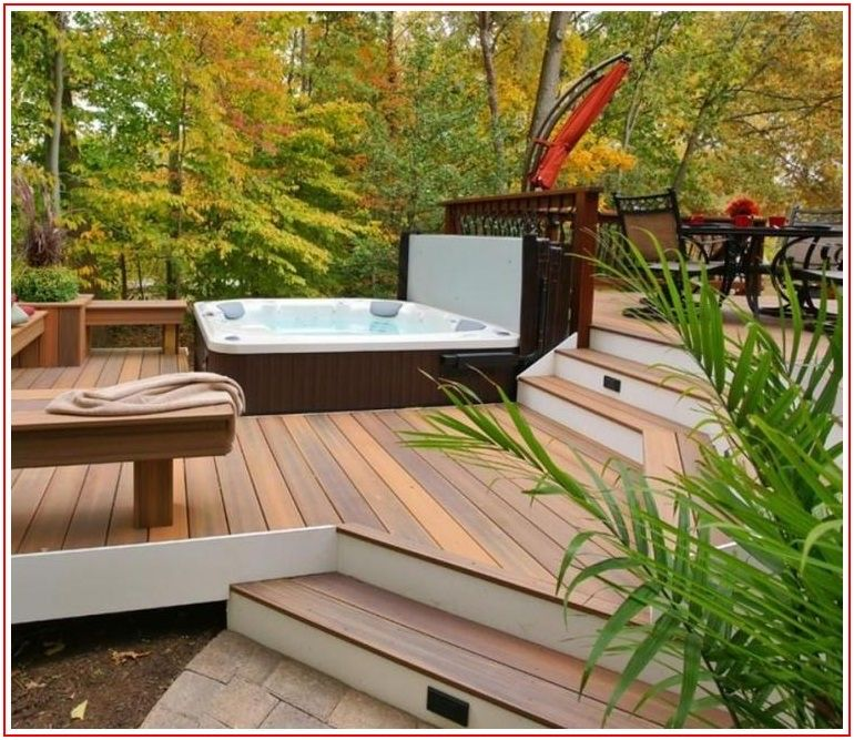 Hot Tub Flooring Options