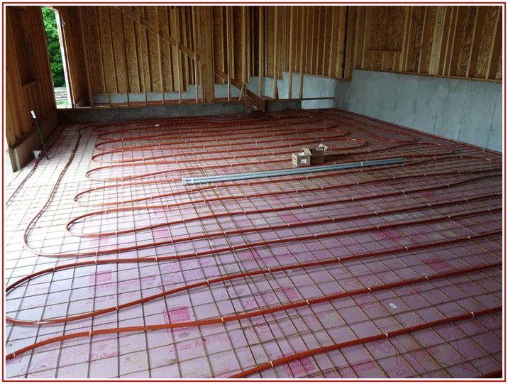 House With Heated Floors