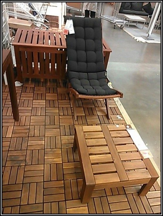 Ikea Wood Patio Flooring