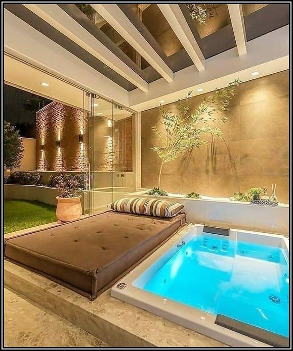 Indoor Hot Tub Flooring Options
