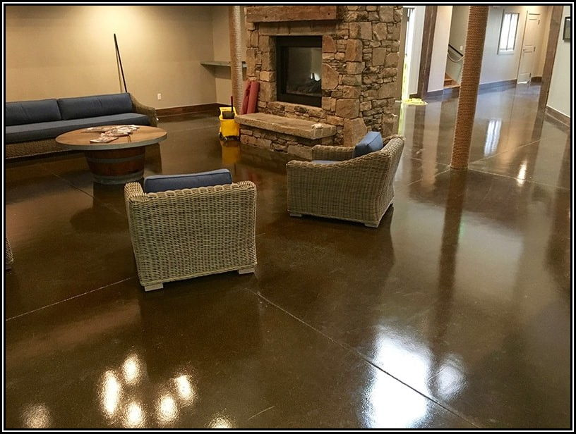 Indoor Polished Concrete Floors