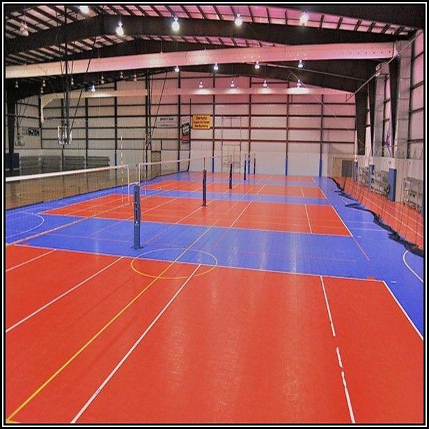 Indoor Volleyball Court Flooring Material
