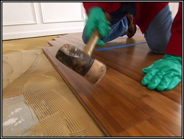 Installing Bamboo Hardwood Flooring