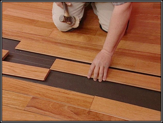 Installing Carpet On Hardwood Floors