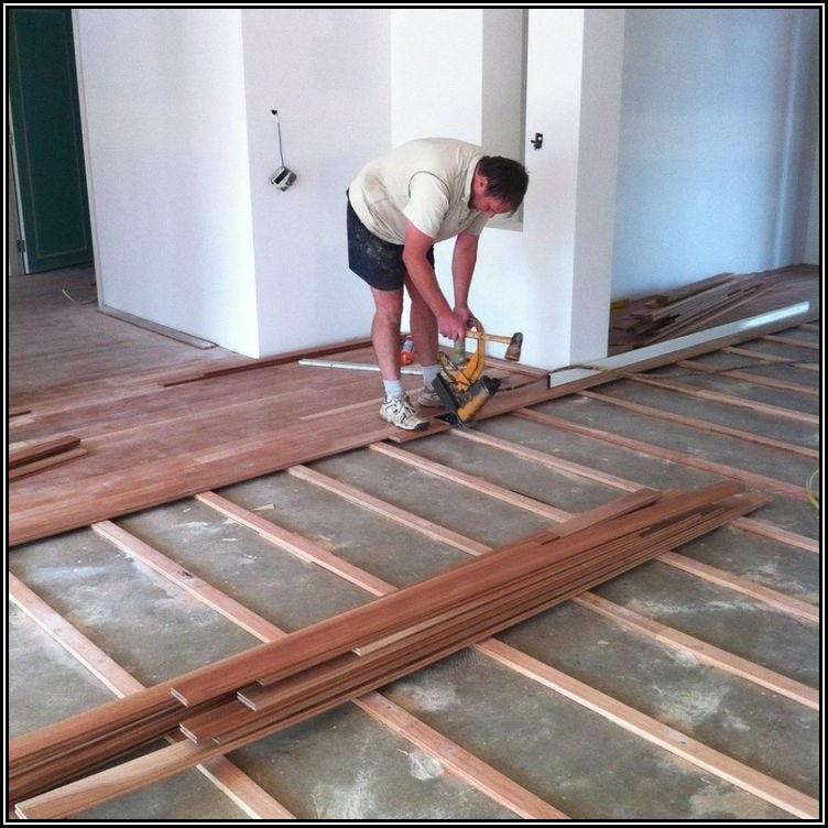 Installing Carpet Over Wood Floors