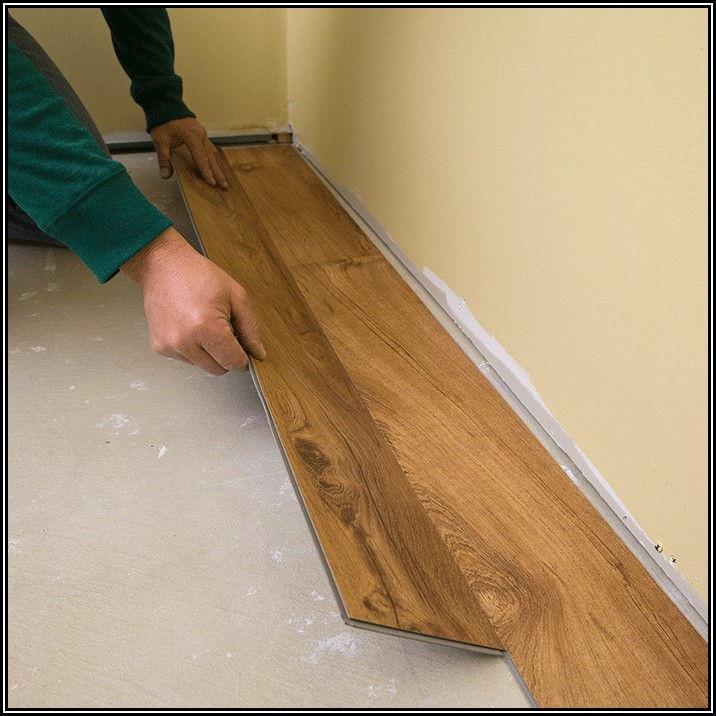 Installing Click Vinyl Plank Flooring On Concrete