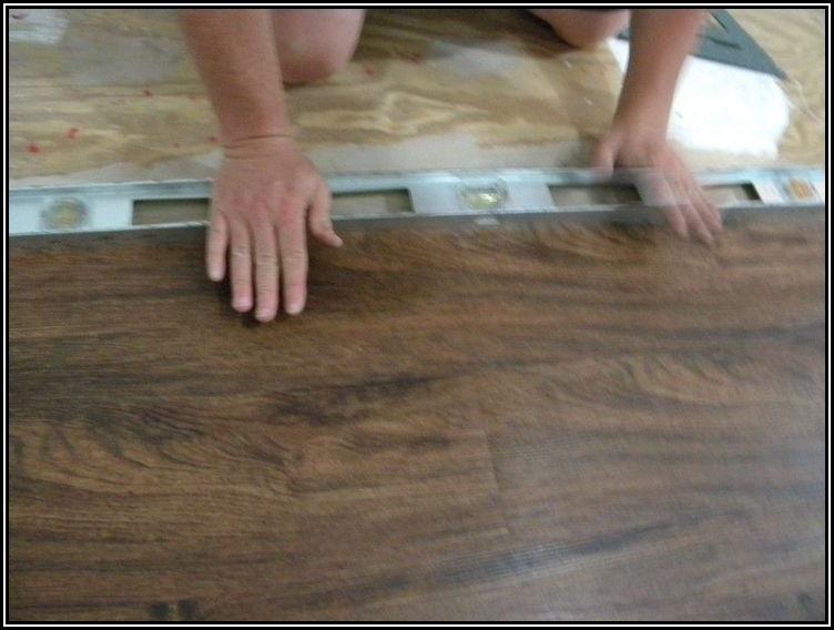 Installing Click Vinyl Plank Flooring