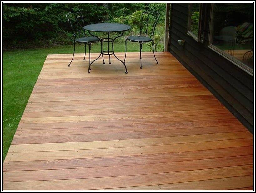 Installing Douglas Fir Porch Flooring