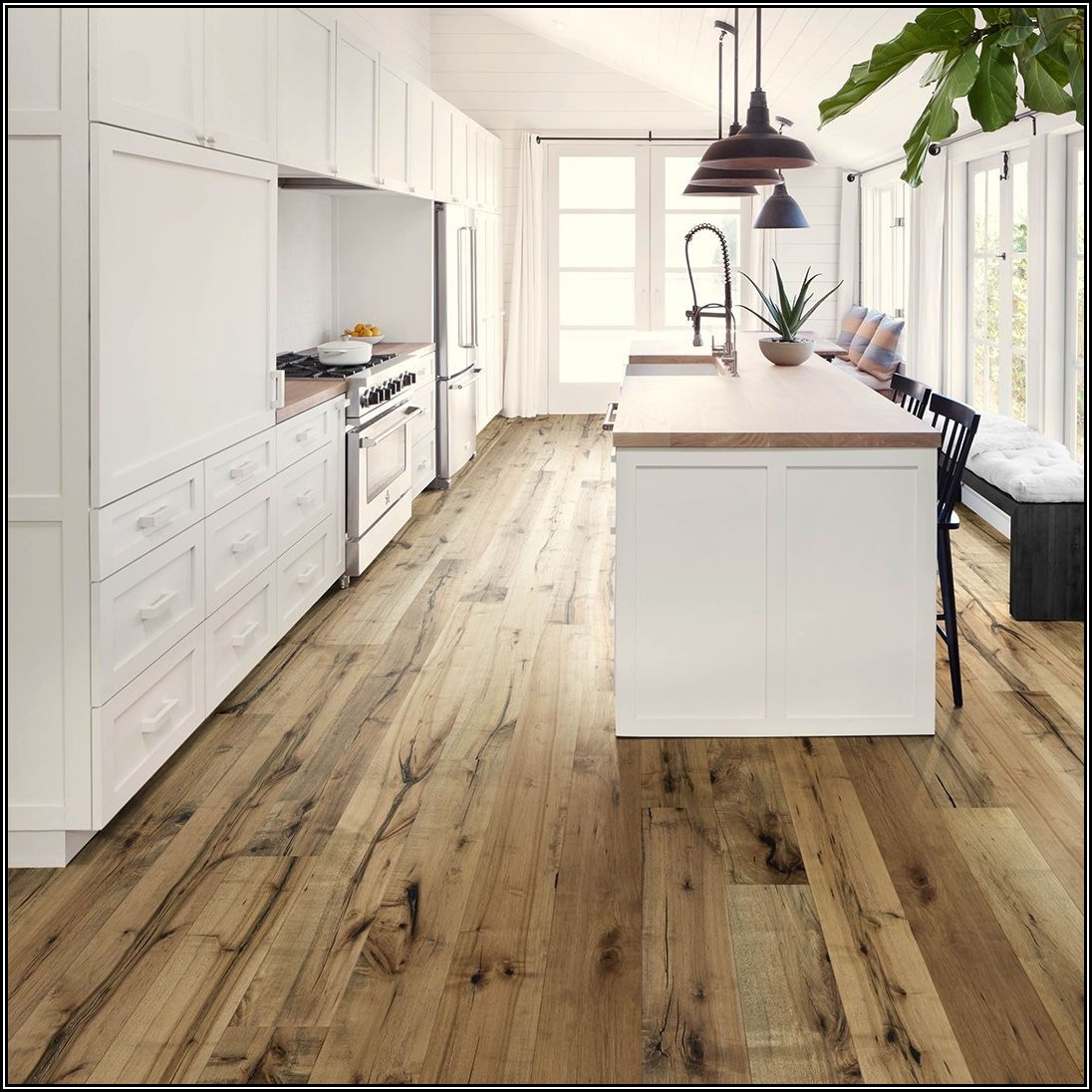 Installing Hardwood Floors In Kitchen