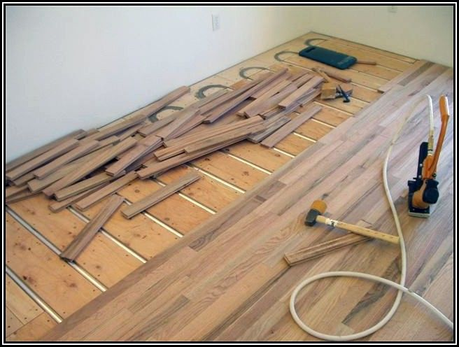 Installing Hardwood Floors Over Radiant Heat