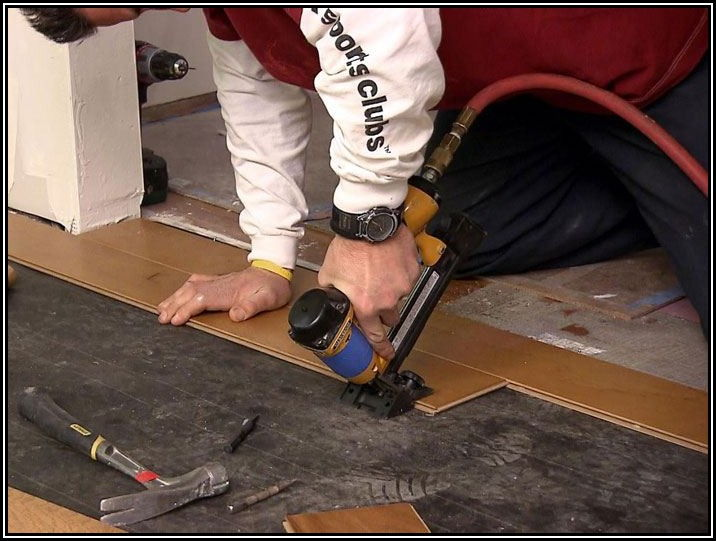Installing Nail Down Hardwood Flooring Over Concrete