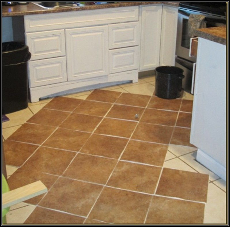 Installing Peel And Stick Vinyl Flooring Over Ceramic Tile