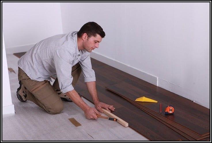 Installing Procore Vinyl Plank Flooring