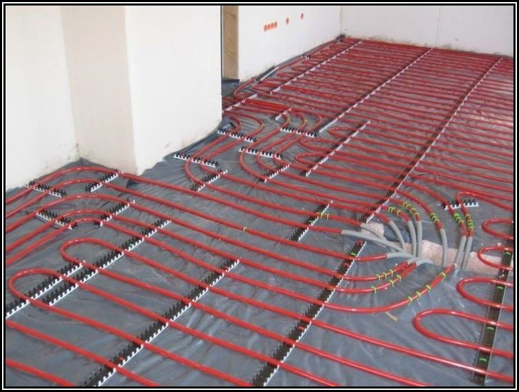 Installing Radiant Heat Under Hardwood Floors