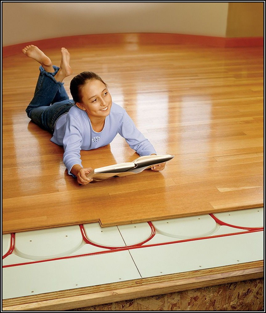 Installing Radiant Heat Under Wood Floors