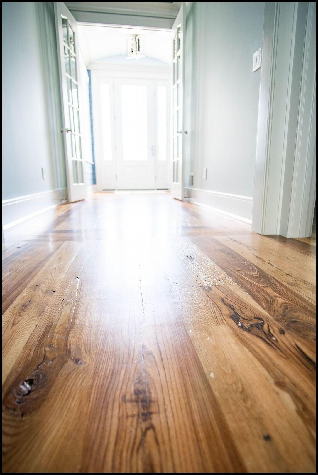 Installing Reclaimed Wood Flooring