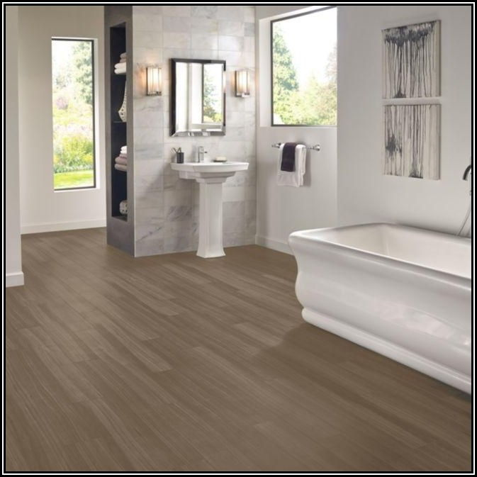 Installing Rigid Core Vinyl Flooring In Bathroom