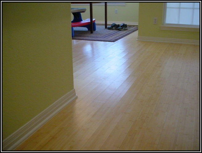 Installing Solid Bamboo Flooring On Concrete