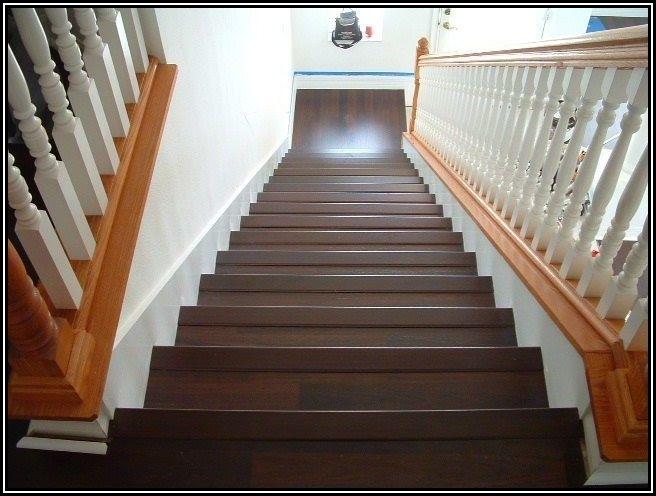 Installing Tarkett Laminate Flooring On Stairs