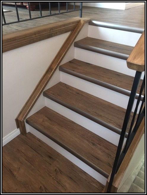 Installing Vinyl Flooring On Stairs