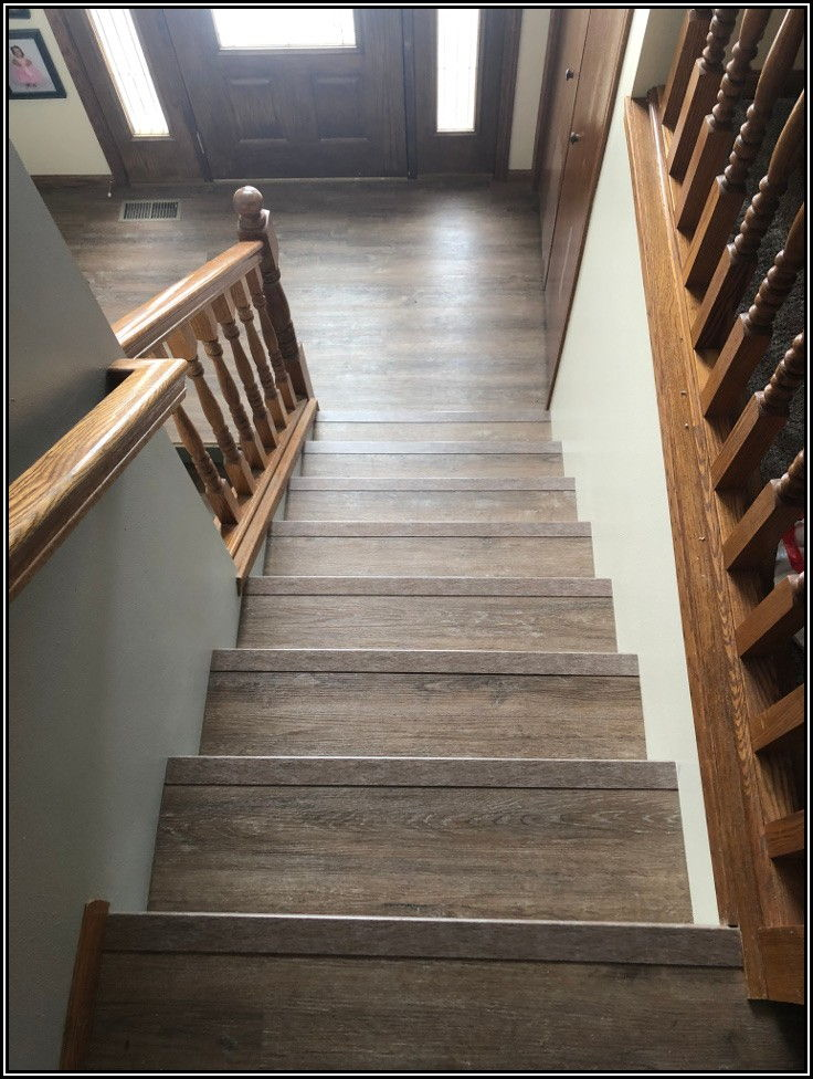 Installing Vinyl Plank Flooring On Stairs