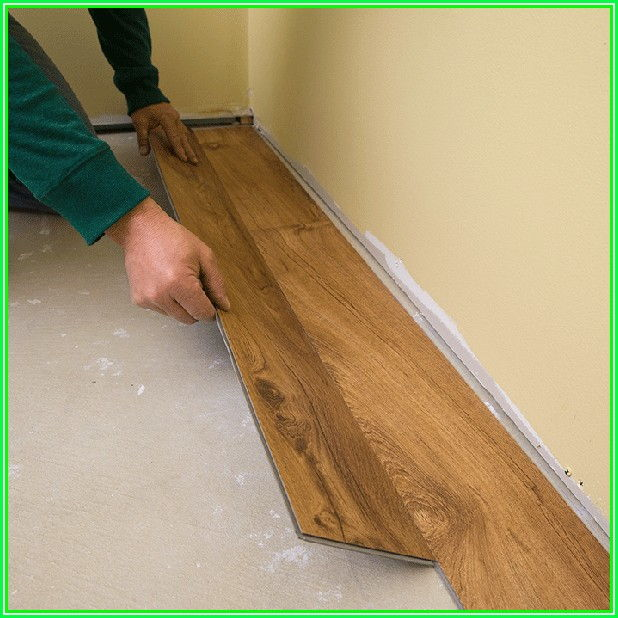 Installing Vinyl Plank Flooring Peel And Stick
