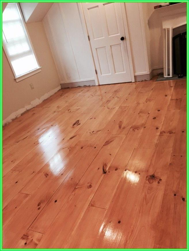 Installing Wide Pine Flooring