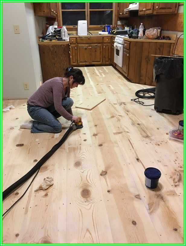 Installing Wide Plank Flooring
