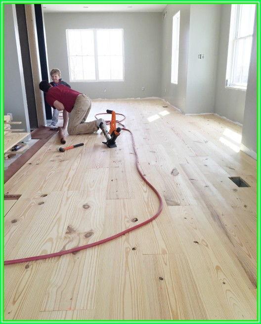 Installing Wide Plank Hardwood Flooring