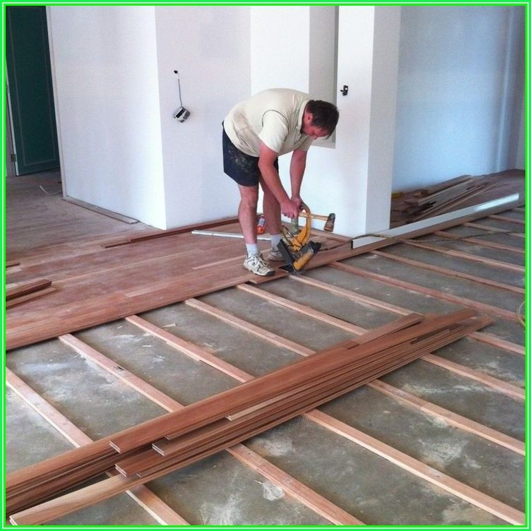 Installing Wood Floors On Concrete Slab