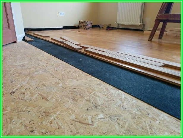 Insulation Under Laminate Flooring