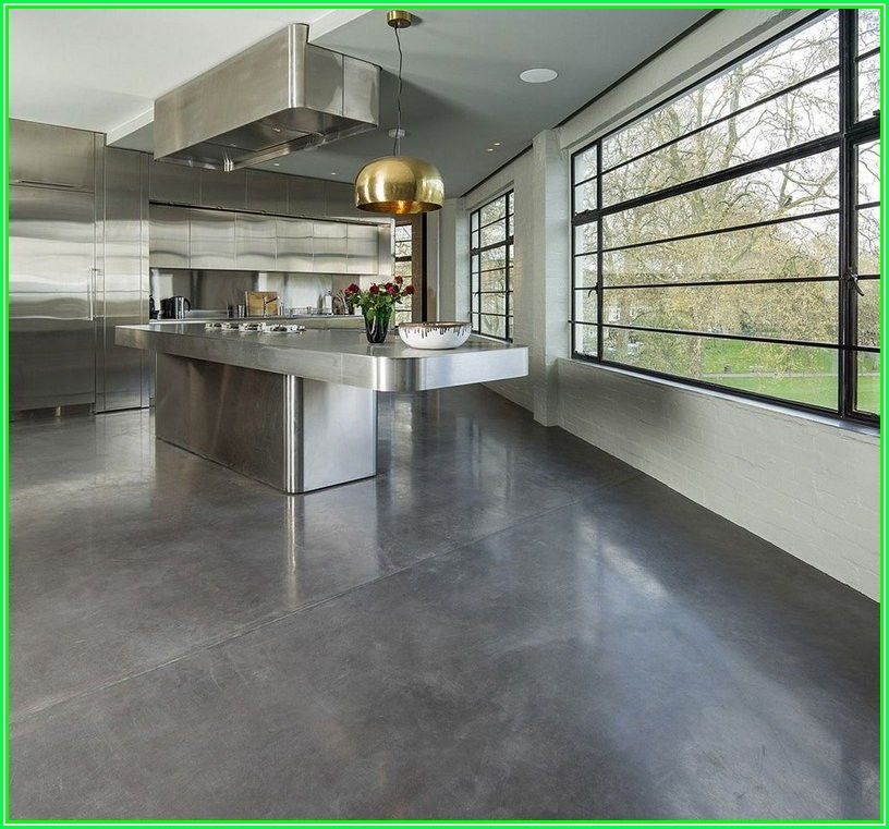 Interior Polished Concrete Floors In Homes