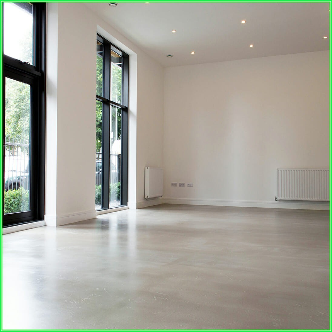Interior Residential Polished Concrete Floors