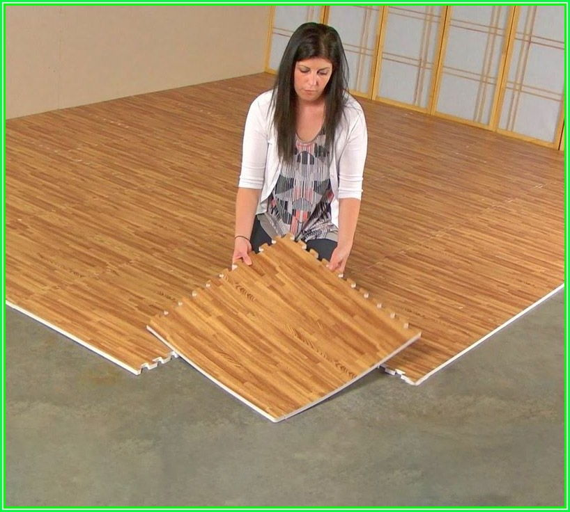 Interlocking Engineered Hardwood Flooring