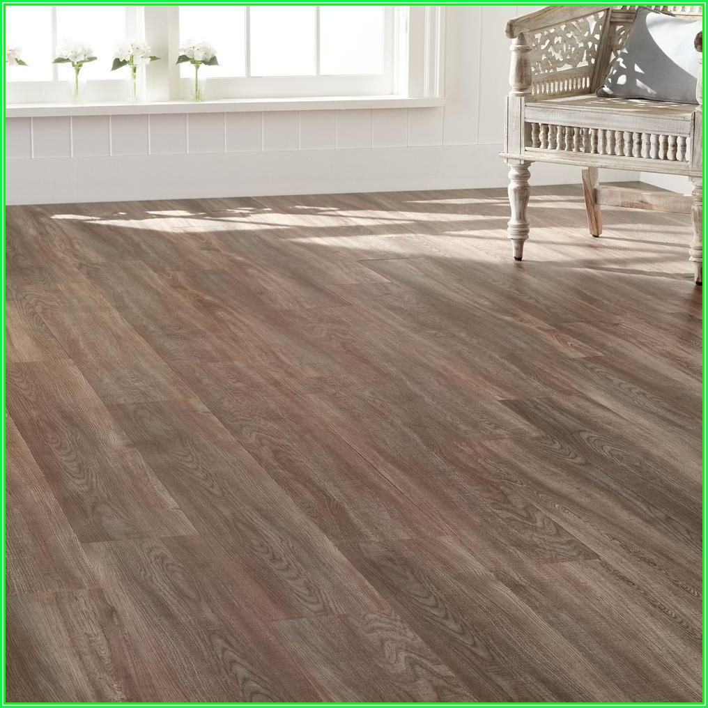 Interlocking Luxury Vinyl Plank Flooring Home Depot