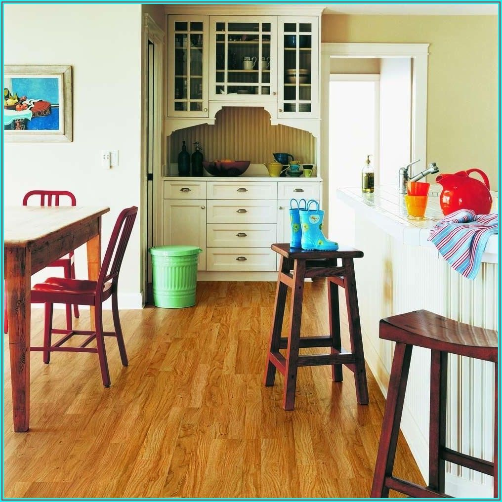 Laminate Flooring With Attached Underlayment Home Depot