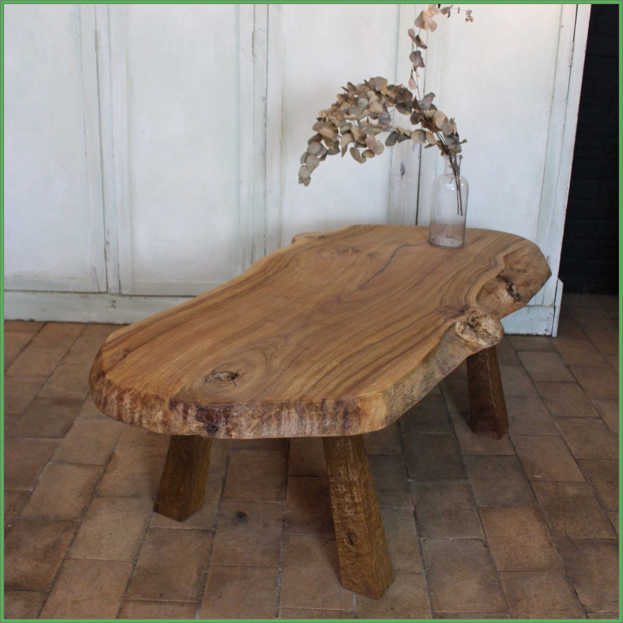 Large Tree Trunk Coffee Table